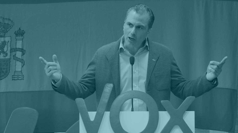 Javier Ortega Smith, en un acto de Vox.