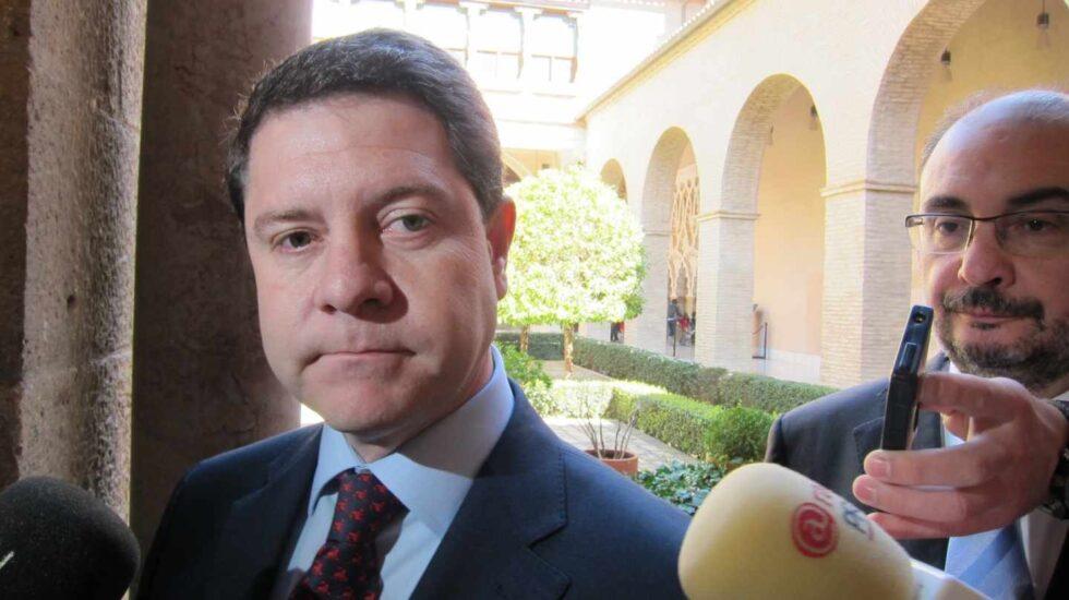 Emiliano García-Page y Javier Lambán.