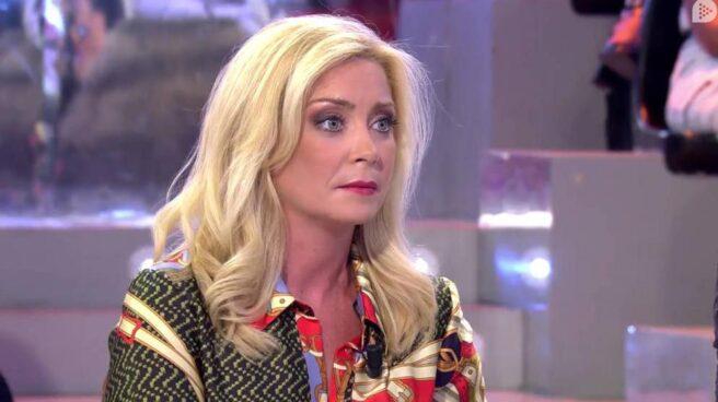 Paloma Zorrilla, durante una intervención en Telecinco.