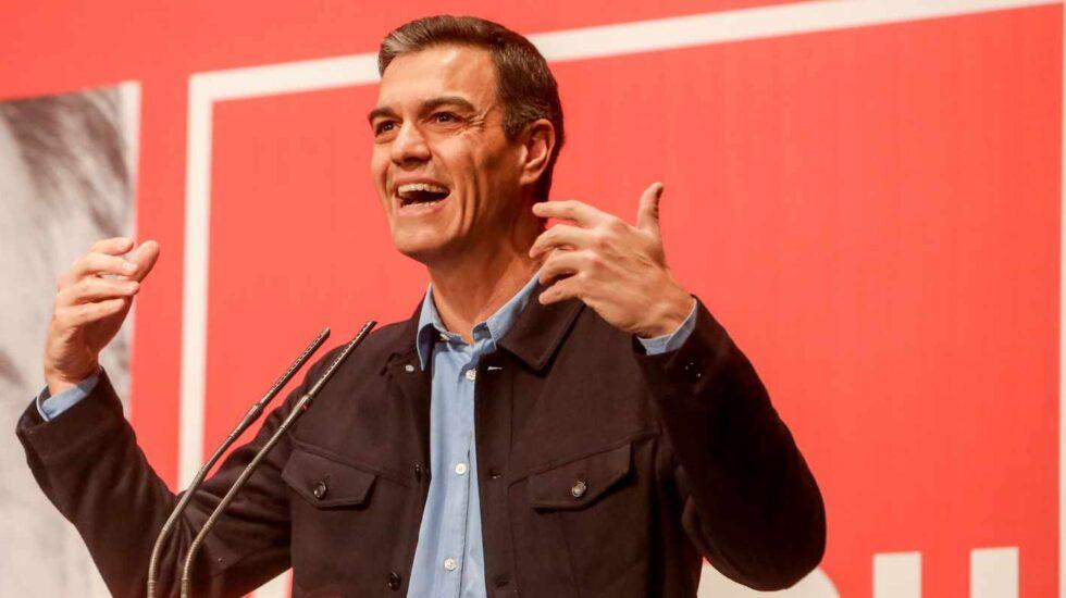 Pedro Sánchez, en un acto como secretario general del PSOE.