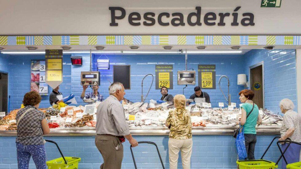 Primera huelga contra el ERE de Dia en los supermercados de Vizcaya.