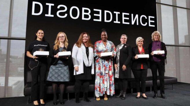 Premiedas Desobediencia en 2018