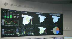 Centro de control de energías renovables de Red Eléctrica de España.