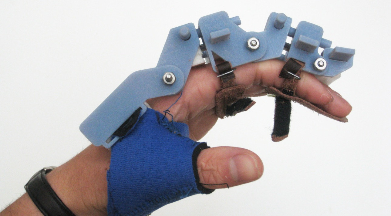 Dispositivo de rehabilitación de mano