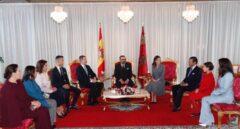 Los Reyes inician su visita de Estado a Marruecos recibidos por Mohamed VI