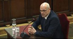 "El ex conseller Romeva secunda a Junqueras: ""Me considero un preso político"""