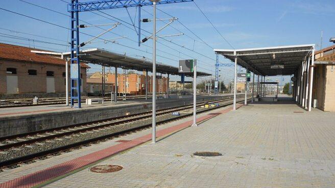 Estación de tren de Tardienta.