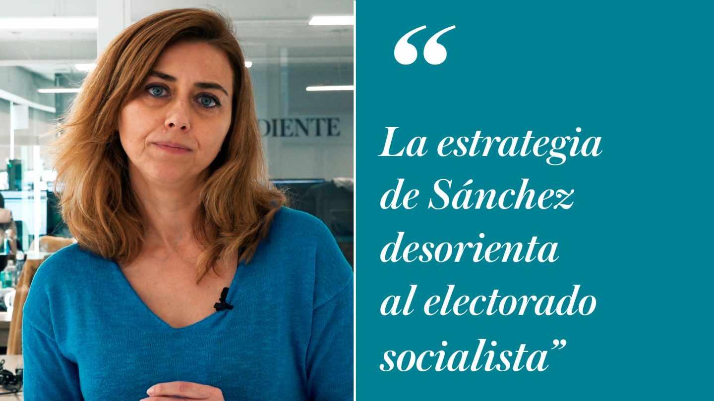 Carmen Torres: la estrategia de Sánchez desorienta al electorado socialista