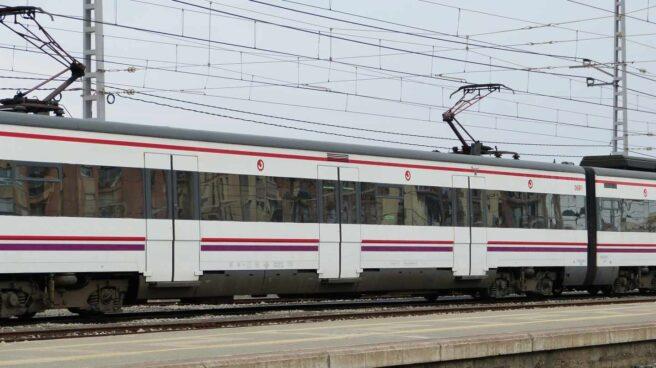 Tren de Cercanías.