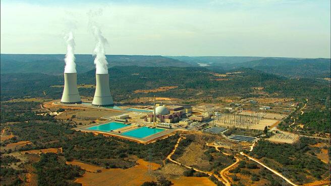 La central nuclear de Trillo, en Guadalajara.