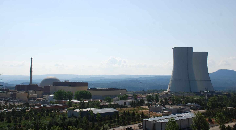 La central nuclear de Trillo, en la provincia de Guadalajara.