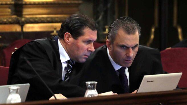 Juicio al procés: los abogados de Vox Pedro Fernández y Javier Ortega.
