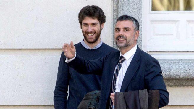 El ex 'conseller' Santi Vila, llegando al Tribunal Supremo a una de las sesiones del juicio.