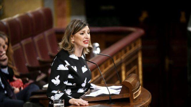 Yolanda Díaz, diputada de En Marea.