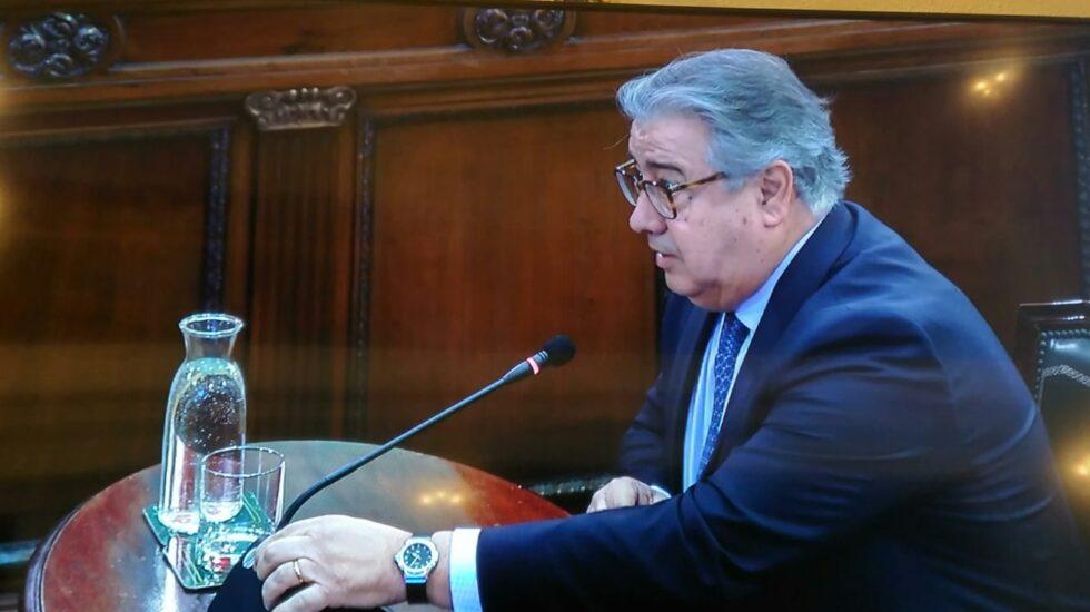 Juan Ignacio Zoido, declarando en el Tribunal Supremo.