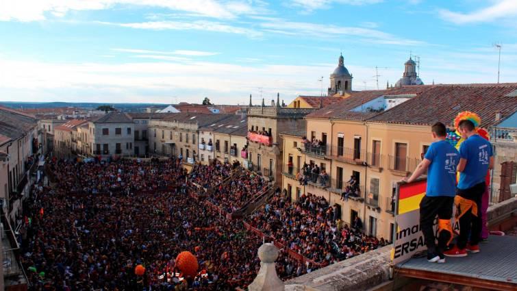 La Plaza Mayor de Ciudad Rodrigo.