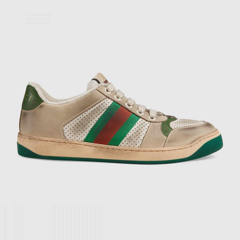 Uno de los modelos de zapatillas Screener de Gucci.