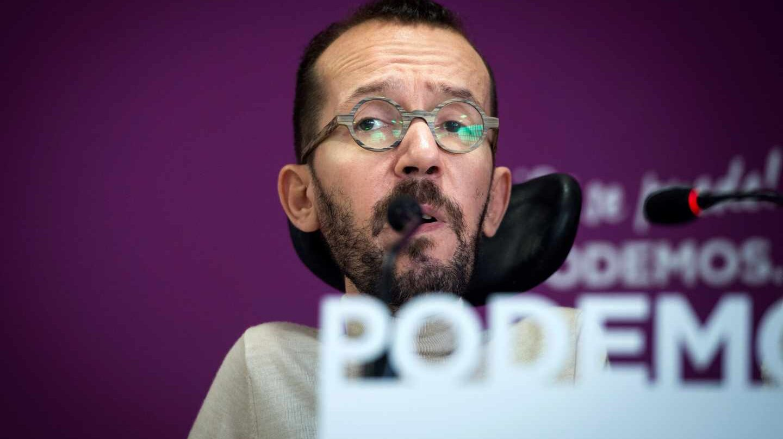 Pablo Echenique defiende a la candidata de Podemos por Ávila, Pilar Baeza.