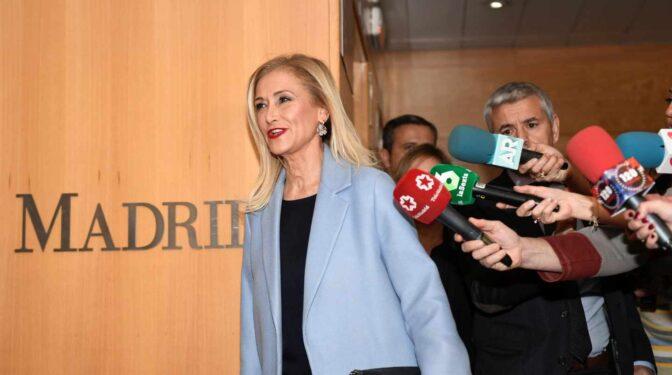 El Tribunal Superior de Madrid confirma la absolución de Cifuentes