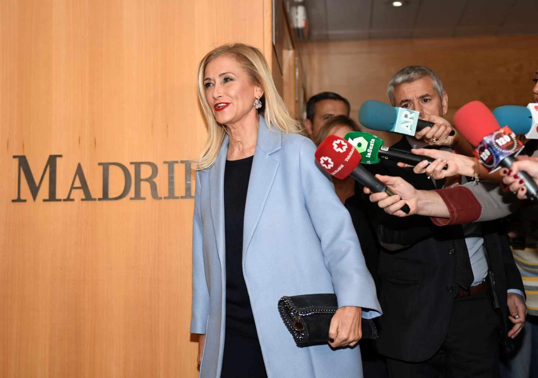La ex presidenta de la Comunidad de Madrid Cristina Cifuentes.
