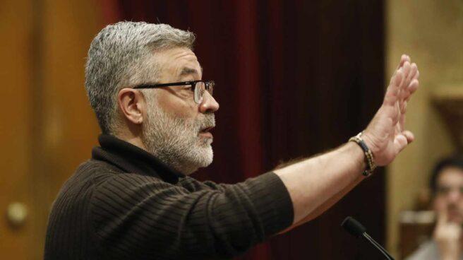 El diputado de la CUP en el Parlament, Carles Riera.