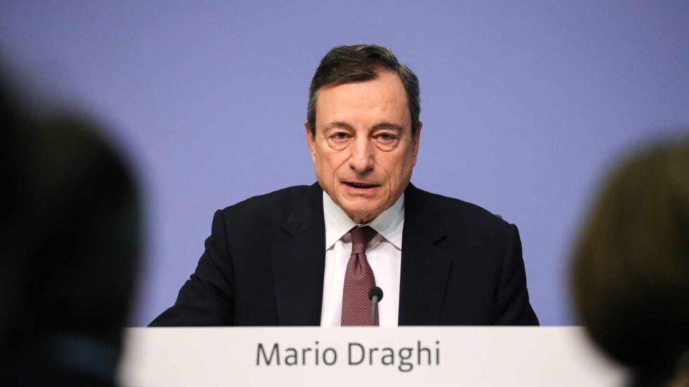 El ex presidente del BCE Mario Draghi.