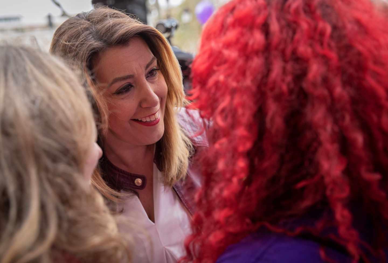Susana Díaz, en un acto en Sevilla.