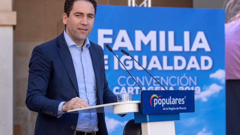El secretario general del PP Teodoro García, en un acto de Familia e Igualdad.