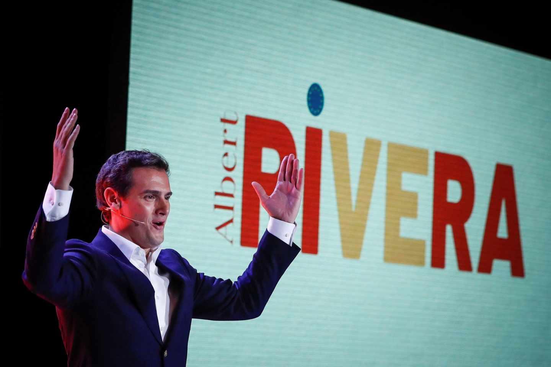 Albert Rivera, proclamado candidato de Ciudadanos.