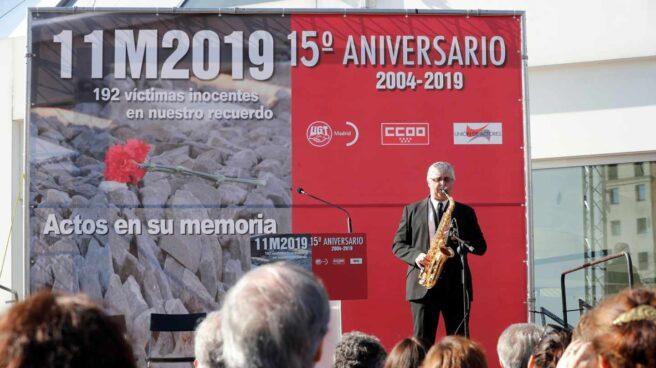 Homenaje a las víctimas del 11-M en Atocha.