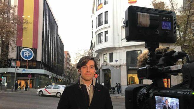El periodista Pablo Montesinos, cabeza de lista del PP por Málaga.