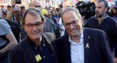 Millón y medio de euros, el coste anual de los ex presidentes y ex consejeros catalanes