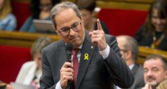 Torra afronta una petición de inhabilitación que podría forzar las elecciones que quiere ERC