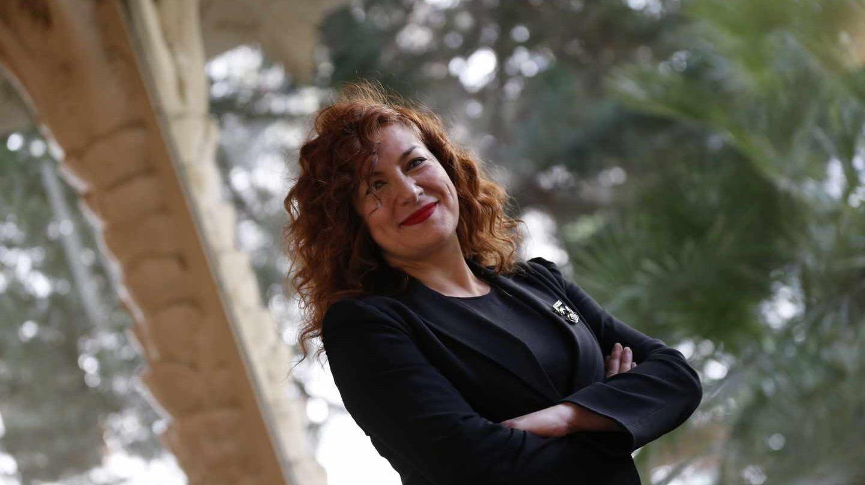 La presidenta de la SGAE, Pilar Jurado.