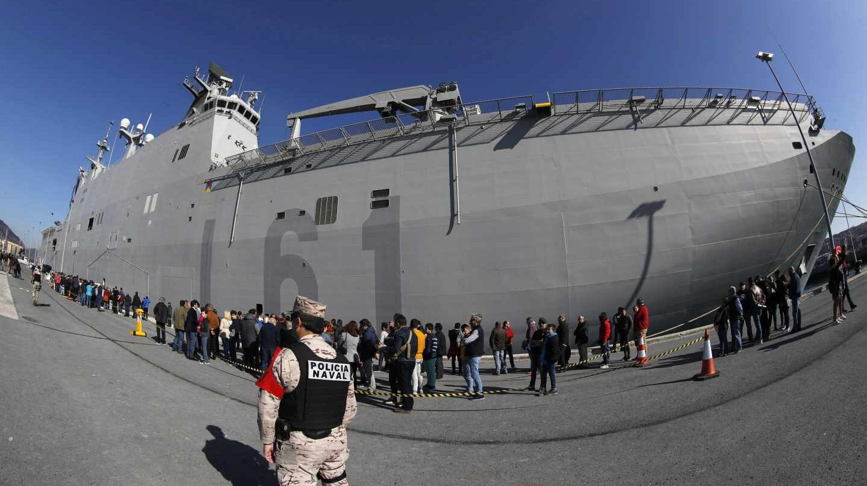Buque de la Armada Juan Carlos I.