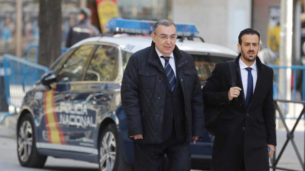 El exjefe de la Unidad Central de Apoyo Operativo de la Policía Enrique García Castaño.