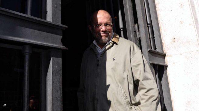 El líder de Ciudadanos en Castilla y León, Francisco Igea, en la Fiscalía.