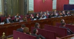 Sesión del juicio del procés.
