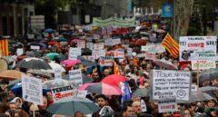 Manfestación en Madrid de La España Vaciada.