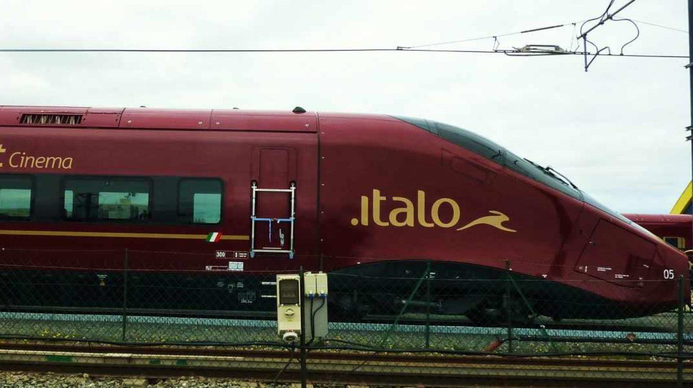 El tren de alta velocidad Italo, que cubre trayectos de norte a sur de Italia, pertenece a NTV, interesada en el AVE español.