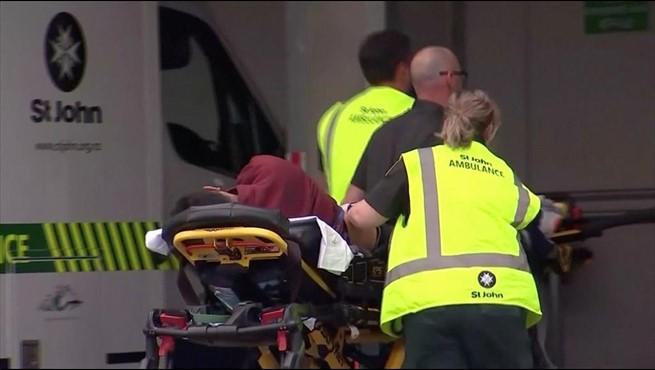 Uno de los heridos de los atentados de Nueva Zelanda.