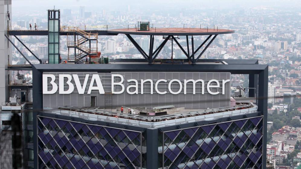 Edificio BBVA Bancomer en Ciudad de México.