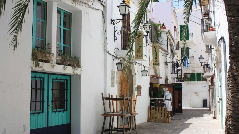 Barrio ibicenco de Dalt Vila