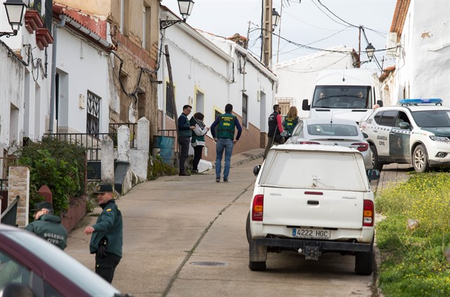 Calle de El Campillo donde vivía Laura Luelmo