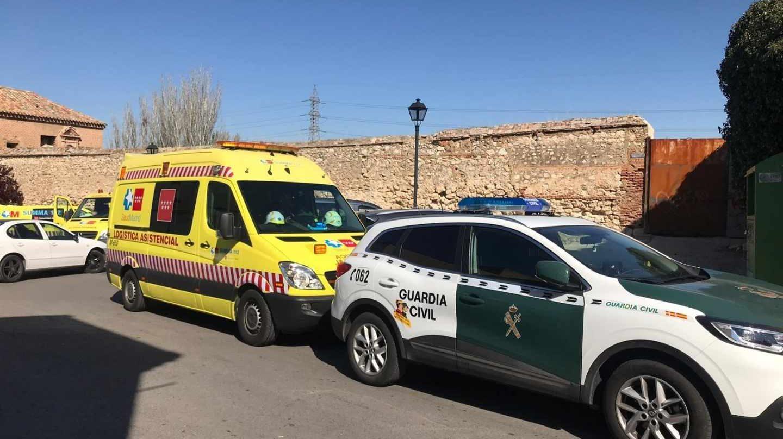Emergencias y Guardia Civil de Madrid