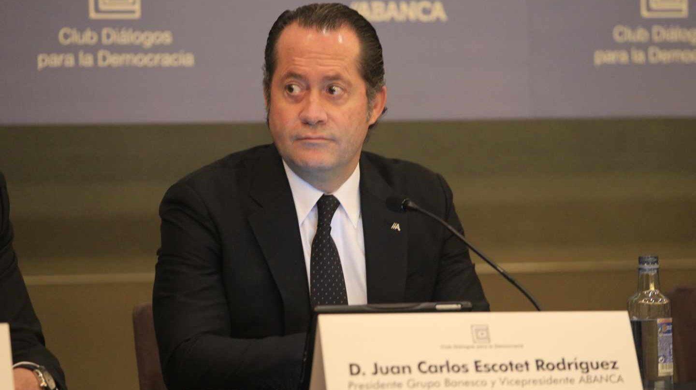 Juan Carlos Escotet, propietario de Banesco y Abanca.