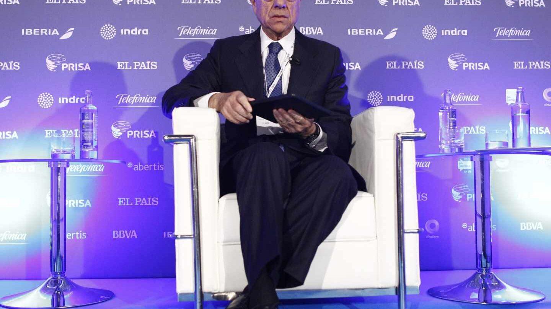 El presidente de BBVA, Francisco González.