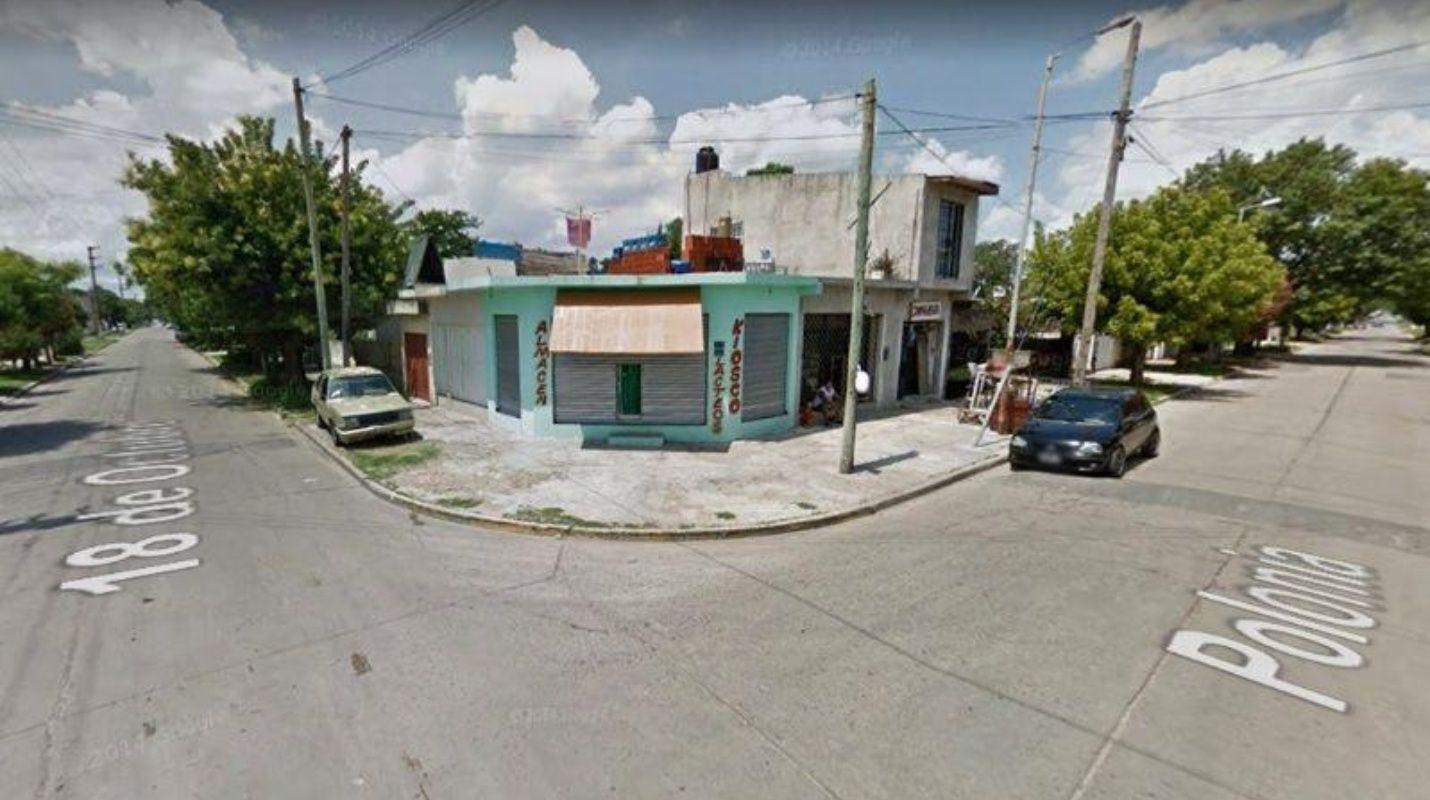 Calle donde se ha producido el asesinato.