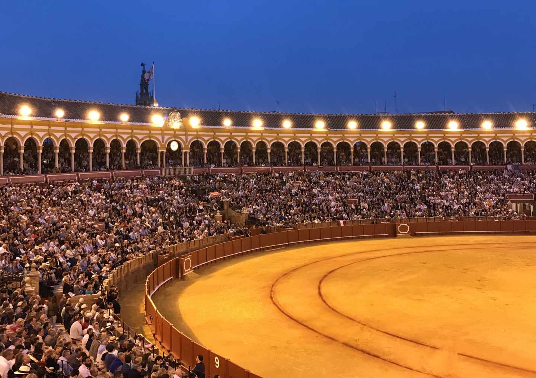 Plaza de toros de la Real Maestranza de Sevilla.