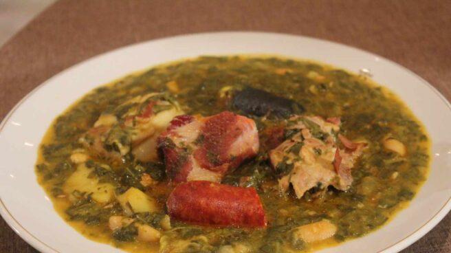 El plato campeón a Mejor Pote Asturiano.